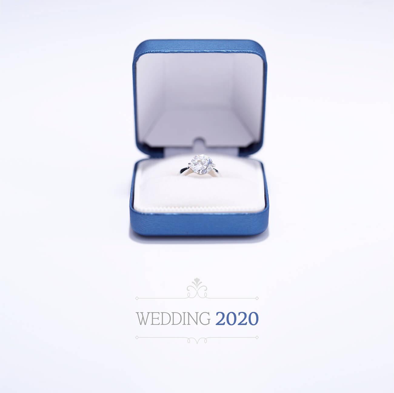 웨딩 프로포즈 반지 선물